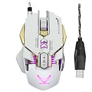 7 gomb led mechanikus egér vezetékes 3200dpi USB optikai egér számítógépes egér játék pc gamer laptop számítógép-perifériák