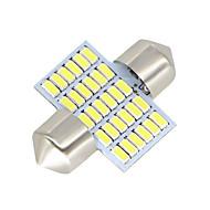 2x-festoon-31mm-30-smd-3014-witte-geleide-auto-koepel-lampen-lampen-3021-6428-de3175 12-24v