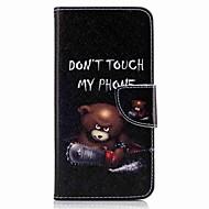Til huawei p10 plus p10 lite case cover kortholder lommebok med stativ flip mønster sag fuld krop tilfælde bær hard pu læder