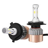 h4 36W / kpl 7200lm johti ajovalojen kit korkea lähivalot korvata halogeeni xenon csp johti ajovalot johti ajovalojen lamput 2 kpl