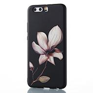Dla huawei mate 8 mate 9 pro pokrowiec pokrowiec kwiatowy wzór relief tpu materiał obudowa telefonu p10 p9 p8 lite 2017 6x nova v9