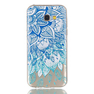 For Samsung Galaxy A5 (2017) A3 (2017) Telefon Taske TPU Materiale Lader Mønster Relief Telefon Case