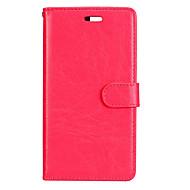 Do huawei p8 lite (2017) pokrowiec na p10 klasyczne trzy karty solidny kolor pu materiał na skórze portfel telefon komórkowy case p10 p9
