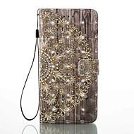 Slučaj za Apple iphone 7 plus 7 držač kartica novčanik sa stalak flip uzorak slučaj puni tijelo slučaju 3d cvijet teško pu koža za 6s plus