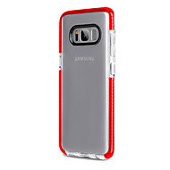 Voor Samsung Galaxy S8 Plus S8 Case Cover Acryl Backplane TPU Frame High penetration non slip slip telefoon hoesje