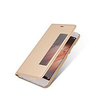 Huawei p10 p10 plus esetében bőrborítás intelligens alvó flip-ügy Huawei p19 P9 plusz néző ablak