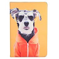 """Apple iPad (2017) pro 9.7 """""""" burkolata állvánnyal flip-minta teljes test esetében kutya kemény műbőr levegő 2 levegő ipad2 3 4"""