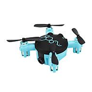 Drone FQ777 FQ04 4 Kanal 6 Akse Med 0.3MP HD-kamera LED-belysning Hodeløs Modus Med kameraFjernstyrt Quadkopter Fjernkontroll Kamera