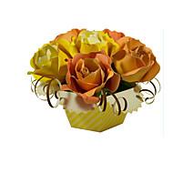 Puzzle Zestaw DIY Zabawki 3D Cegiełki DIY Zabawki Róże Kwiat