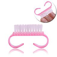 Pinpai Nail Brush Small Horn Brushes for Cleaning Brushes Dust Nail Clear Polish Nail Brushes Nail Art Tool Nail Salon Make Up