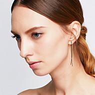 dingle øreringe Legering Mode minimalistisk stil Dyreformet Guld Sort Sølv Smykker Bryllup Fest Halloween Daglig Afslappet 1 par