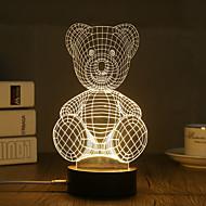 Dekorációs lámpa LED éjszakai fény-0.5W-USB Dekoratív - Dekoratív