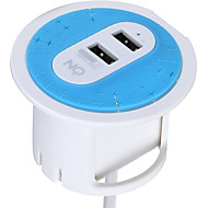 På hod1230b au plug telefon usb oplader power strips 180 cm udgange 2 usb porte 3.1a ac 100v-240v