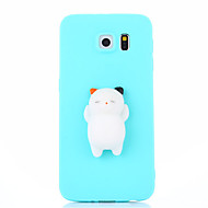Case For Samsung Galaxy S7 S7 edge  Squishy DIY Stress Relief Case Back Cover Case Cute 3D Cartoon Soft TPU Case for Samsung Galaxy S6 S6 edge