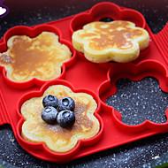 1 Τεμάχιο Εργαλεία cookie για αυγό Για μαγειρικά σκεύη Σιλικόνη ψήσιμο Εργαλείο Φιλικό στο Περιβάλλον