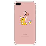 Obudowa dla iphone 7 7 plus wzór kreskówki tpu miękka okładka dla telefonu iphone 6 plus 6s plus iphone 5 se 5s 5c 4s