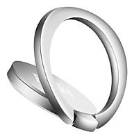 Mobilstativ Bil Skrivebord Seng Magnetisk Ringholder 360° rotasjon Justerbart Stativ Metall for Mobiltelefon
