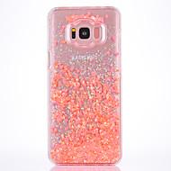 Kotelo samsung galaxy s8 s8 plus kotelo kattaa pienet tuore sarja pc materiaali rakkaus flash jauhe quicksand puhelin tapauksessa