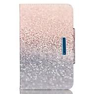 Til Samsung Galaxy Tab en 9,7 tab e 9.6 cover dække sand mønster pu hud materiale samsung flad beskyttende shell tab en 8,0 tab 3 lite tab