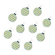 2.5W أضواء LED Bi Pin 24 SMD 2835 189 lm أبيض دافئ أبيض DC 12 V 10 قطع