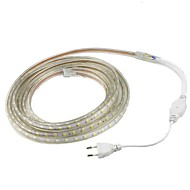 15W Flexibele LED-verlichtingsstrips 1200 lm AC220 V 1 m 60 leds Warm Wit Wit Rood Geel Blauw Groen