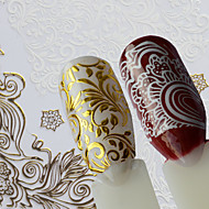 1 Nail Art Samoprzylepna Wzór Akcesoria DIY Naklejka Kosmetyki do makijażu Nail Art Design