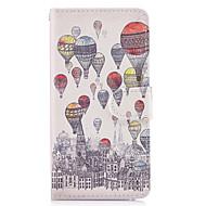 Taske til huawei p10 lite p8 lite (2017) taske dækker ballon mønster pu læder tasker til huawei p9 lite mate 9 y625 changxiang5