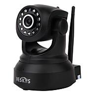 veskys® 720p hd wi-fi ip kamera w / 1.0mp älypuhelin kaukovalvonta langaton tuki 64 gt tf-kortti