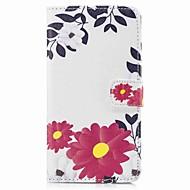 Taske til samsung galaxy s8 plus s8 kuffert kortholder lommebok med stativ flip mønster fuld krop kasse blomst hårdt pu læder