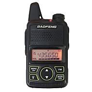 Baofeng bf t1 mini walkie talkie ultra tanka mikro vožnja 400-470mhz baofeng hotel civilni voki toki 20 kanala