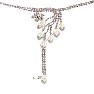 Mujer Pulseras charm Brazaletes Anillo Cristal Obsidiana Bikini Moda Multi capa Bling Bling joyería de disfraz Perla Artificial Brillante
