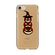 Etui til iPhone 7 6 halloween tpu blødt ultra-tyndt bagcover cover til iPhone 7 plus 6 6s plus se 5s 5 5c 4s 4
