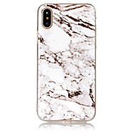 Voor iPhone X iPhone 8 iPhone 8 Plus Hoesje cover IMD Achterkantje hoesje Marmer Zacht TPU voor Apple iPhone X iPhone 7s Plus iPhone 8