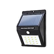Luminile solare exterioare impermeabile 16 au condus luminile ultrasensibile ale corpului senzorului