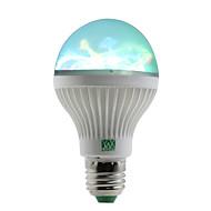 1W LED-pallolamput 6 SMD 100-150 lm RGB AC 85-265 V 1 kpl E27