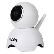 veskys®960pスマートパンダ無線LAN ipカメラ(1.3mp hd /セキュリティ監視可愛いパンダモデル)