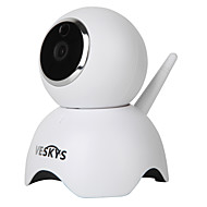veskys® 960p älykäs panda wifi ip kamera (1,3 mp hd / turvallisuusvalvonta söpö panda malli)