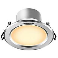 1pcs 5w led downlight celing fény meleg fehér ac220v méret lyuk 90mm 300lm 4000k