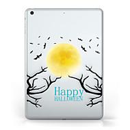 Kompatibilitás iPad (2017) tokok Átlátszó Minta Hátlap Case Átlátszó Mindszentek napja Puha Hőre lágyuló poliuretán mert Apple iPad pro