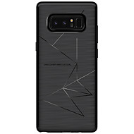 voor case cover schokbestendige frosted back cover case lines / golven soft tpu voor Samsung Galaxy Note 8