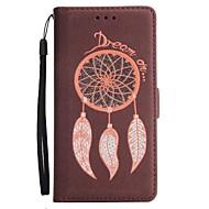 voor case cover kaarthouder portemonnee met standaard flip magnetisch full body case glitter shine droom catcher hard pu leer voor Samsung