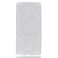 case voor samsung notitie 8 cover glow in de donkere achterkant hoesje mandala kant druk soft tpu