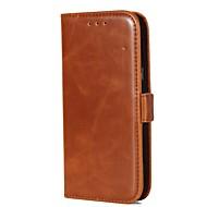 na portfel przypadku portmonetka z portmonetką od statywu klapka magnetyczna pełna obudowa korpus solidna kolor twarda skóra prawdziwa dla