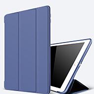 caso para apple ipad (2017) pro 10.5 com stand auto sleep acordar todo o corpo cor sólida pu hard ipad 2 3 4 air 2 air mini 1 2 3 4