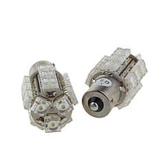 2 x 18 multi-funcional Bombillas LED - luz de freno - luz de la cola - a su vez la luz (S25-BA15S-18-W)