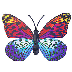 glöd-in-dark fjäril 6st Home 3D fjäril vägg klistermärken med stift&magnet gardiner kyl dekoration