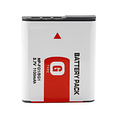 np-bg1/fg1 compatível 3.7v 1100mah bateria para sony dsc-w3, W5, W50 e mais