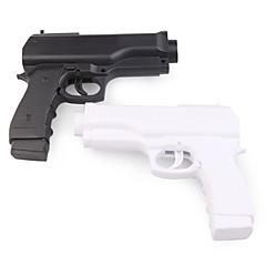 Paar Pistolen Controller für Wii Fernbedienung (Schwarz / Weiß)