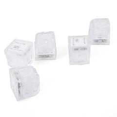 Isbitformede LED-lys (12-pakning, lilla)