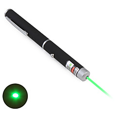 Pen Shape Astronomi 5mW 532nm grøn laser pointer med batteri (2xAAA)